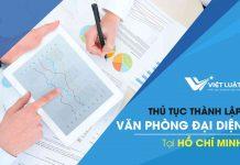 Dịch vụ Thành lập Văn Phòng Đại Diện tại TP. HCM