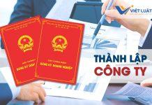 Dịch vụ thành lập công ty tại Việt Luật chỉ 950k