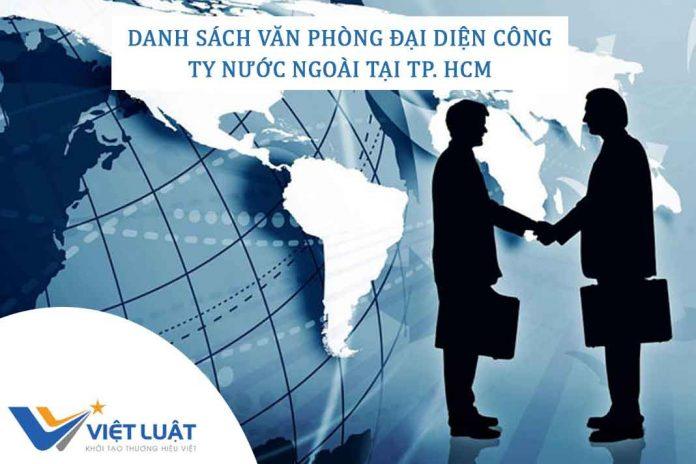 danh sách văn phòng đại diện công ty nước ngoài tại TP. HCM