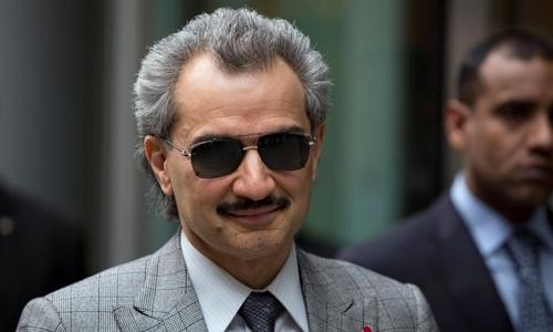Hoàng tử Alwaleed bin Talal bị bắt trong chiến dịch chống tham nhũng cuối tuần trước. Ảnh: Reuters.