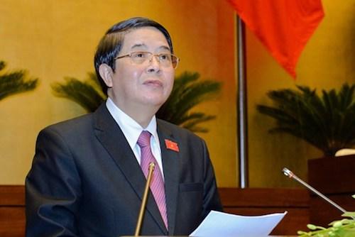 Chủ nhiệm Uỷ ban Tài chính Ngân sách Nguyễn Đức Hải. Ảnh: Q.H