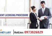 investment licensing procedure
