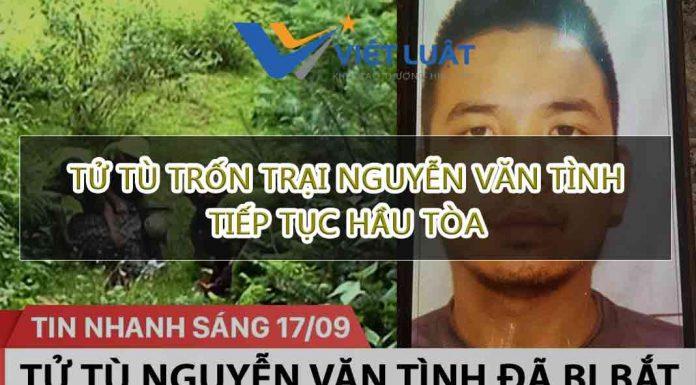 Tử tù trốn trại Nguyễn Văn Tình tiếp tục hầu tòa