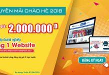 Khuyến mãi thành lập doanh nghiệp - tặng website