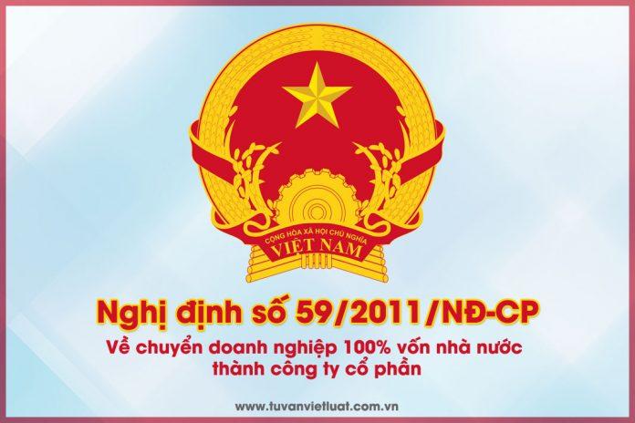 Nghị định Số 59/2011/NĐ-CP