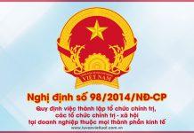 Nghị định số 98/2014/NĐ-CP