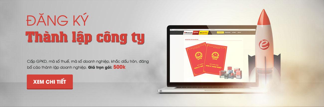 Banner dịch vụ thành lập công ty