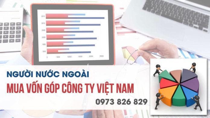Người nước ngoài mua vốn góp công ty Việt Nam