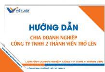 Thủ tục chia doanh nghiệp - Công ty TNHH 2 thành viên trở lên