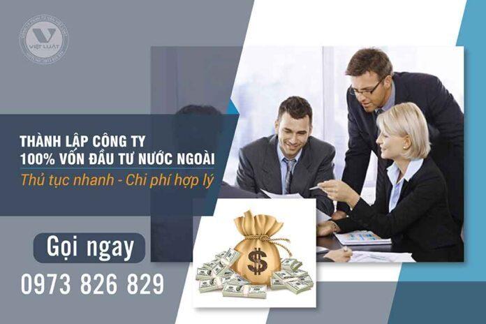 Thành-lập-công-ty-100%-vốn-đầu-tư-nước-ngoài